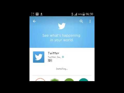 How To Install Twitter For Android