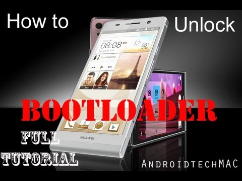 How to Unlock Any Huawei Ascend  Bootloader - Full Tutorial by AndroidTechMAC