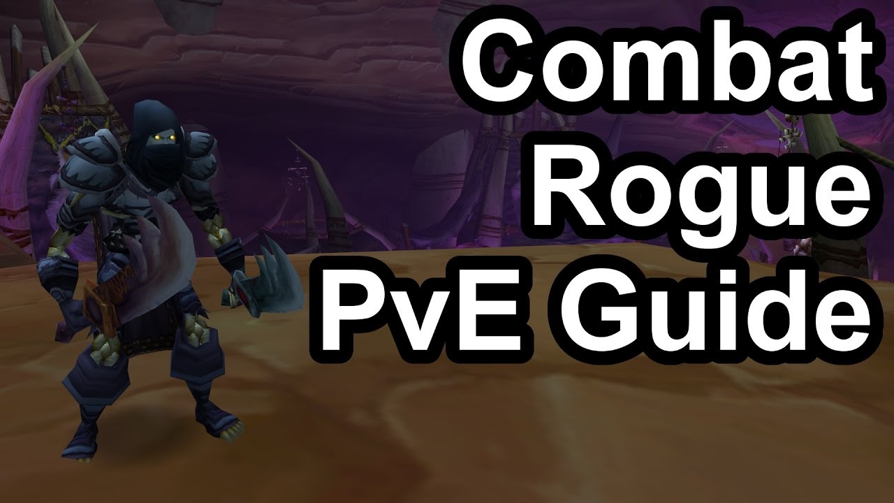 Quick Combat Sword Rogue PvE Guide (1 12 1) [WoW Classic]