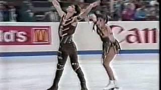 Duchesnay & Duchesnay (FRA) - 1988 Worlds, Ice Dancing, Free Dance
