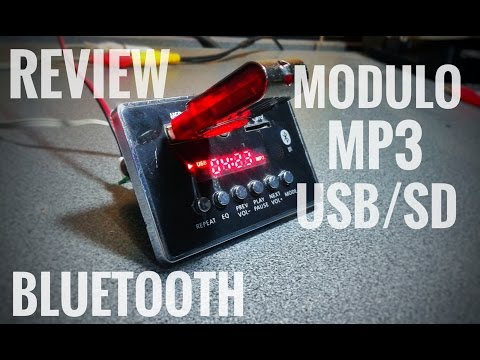 Review | Módulo Mp3 Bluetooth, USB, microSD con Control Remoto
