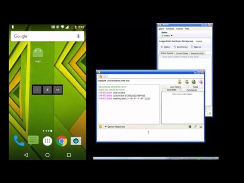 Android Chat Application Using Xmpp Protocol