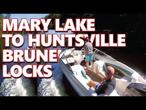 Muskoka Boating: Port Sydney to Huntsville through Brunel Locks