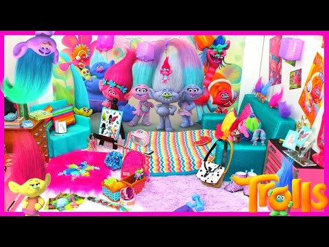 American Girl Doll Trolls Bedroom