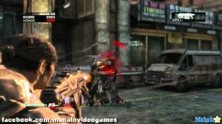 Gears of War 2 w/ Sleebs - Horde Mode: Day 1 Wave 28