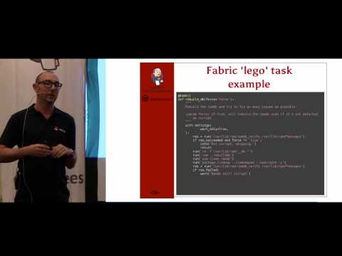 One Tool to Rule Them All: Fabric, Your New Best DevOps Friend at Jenkins UC Israel 2015