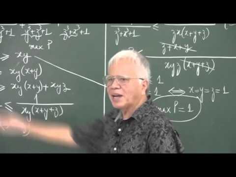 Bất đẳng phụ trong bài toán Min - Max thầy Phan Huy Khải