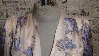 Уроки шитья для начинающих. Блуза: вмётывание и втачивание рукава со сборкой
