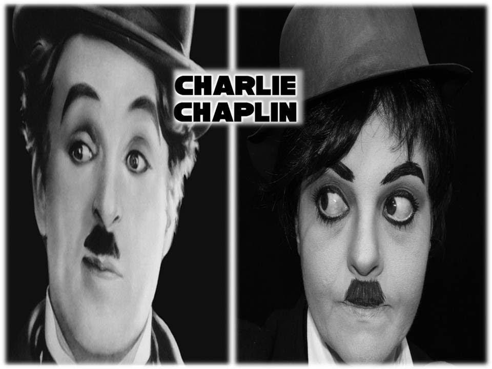 CHARLIE CHAPLIN MAKEUP TUTORIAL - POR RENATA MONTEIRO ...