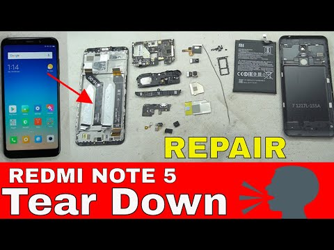 🔧📲📢Redmi Note 5 Full Tear Down: Battery, LCD, Parts Replacement & Repairs...