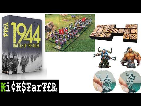 Kickstarter - July 2020 - Update 4 - RPG, Board, Card, War, And Skirmish Games And Stuff Live Now!