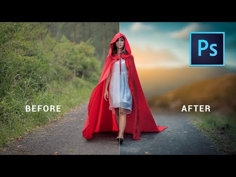 Photoshop cc tutorial: EASY WAY to Change Background