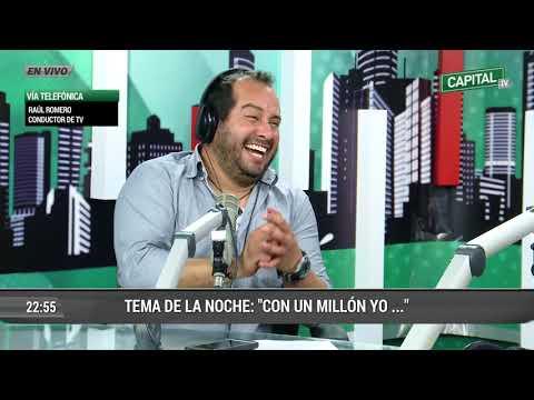Así fue el divertido reencuentro entre Raúl Romero y Róger del Águila en Capital