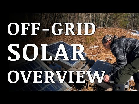Off Grid Electricity - Our DIY Solar System