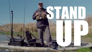 Kayak Bass Fishing: JUST THE TIP - STAND UP FISHING