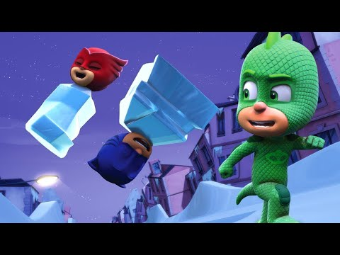 PJ Masks Full Episodes - GEKKO'S NICE ICE PLAN - 1 Hour Chri