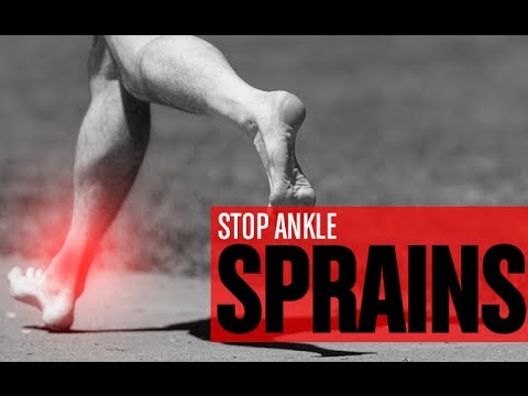STOP ANKLE SPRAINS (In Just 3 Quick Exercises!!)