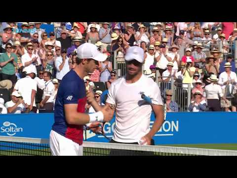 Murray, Wawrinka and Raonic all crash out | Queen's 2017 Highlights Day 2