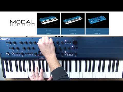Modal Electronics COBALT 8X - Factory Presets Demo (sounds only)