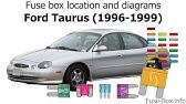 2007 taurus fuse box fuse box location and diagrams ford taurus  2000 2007  youtube 2007 ford taurus fuse box under dash fuse box location and diagrams ford