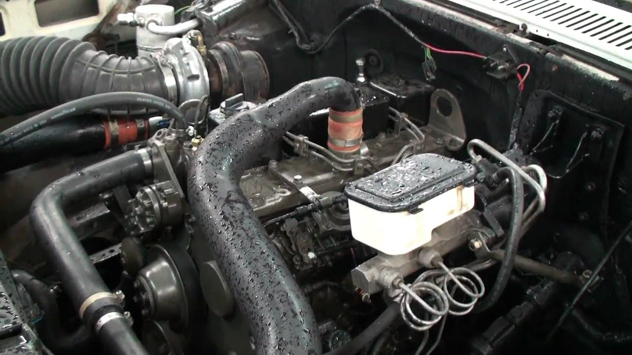 Chevy 3 9l Cummins Youtube