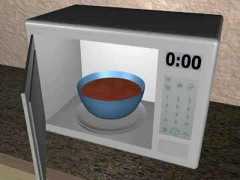 How A Microwave Works Blender 3d Animation Youtube