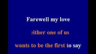 Gladys Knight & The Pips - Neither One Of Us - Karaoke
