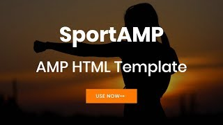 Mobirise Sports Website Design | SportAMP