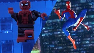 SPIDER-MAN: INTO THE SPIDER-VERSE Official Trailer Side by Side