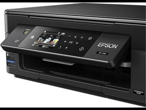 Epson XP 440 Small in One Printer 4K Unboxing Setup