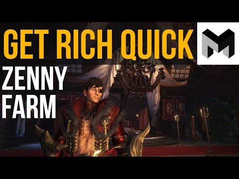 How to get rich Fast: Monster Hunter World Zenny Farming Guide