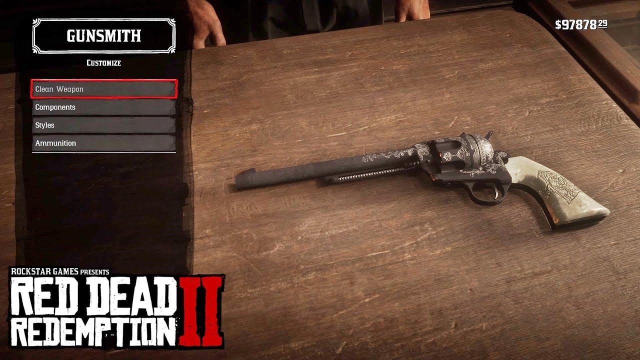 Red Dead Redemption 2 Cattleman Revolver Weapons Weapon