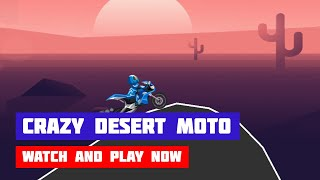Crazy Desert Moto · Game · Gameplay