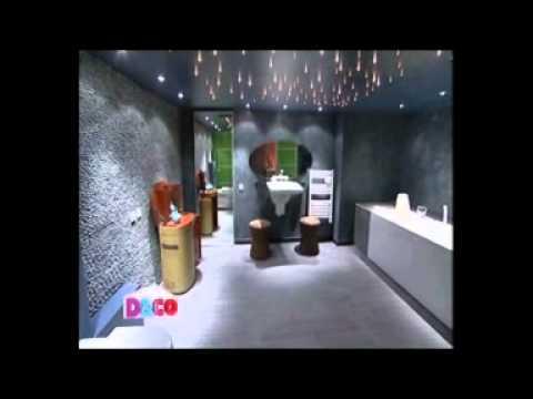 Plafond toil pour une salle de bains youtube - Etoiles fluorescentes plafond chambre ...