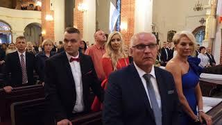 7 letni Olek Szymański śpiewa na weselu brata.  Paweł i Monika 02 09 2017 r
