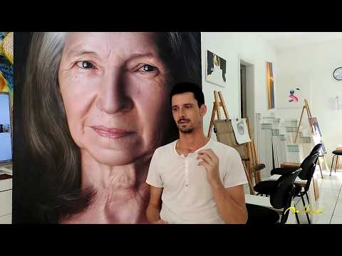 Learn how to make hyper realistic paintings – Fabiano Millani