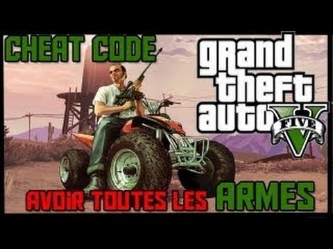 gta v nouveau cheat code avoir toutes les armes weapons cheat code hd youtube. Black Bedroom Furniture Sets. Home Design Ideas
