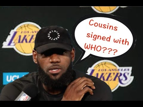 NBA Players' 'Live Reaction of Big News' Compilation