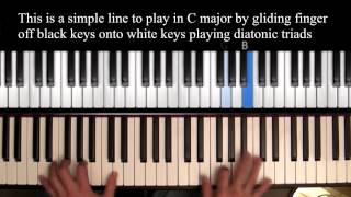 On Green Dolphin Street - Jazz Piano Tutorial
