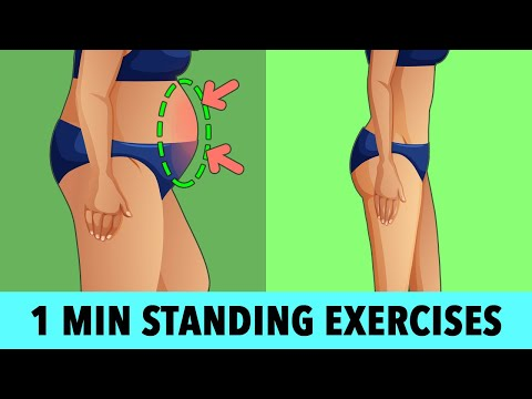1-Minute Standing Exercises: Belly Fat Burner