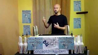 Corso di barman Firenze, Corso barman Flair, Lezione 1,Concepdrink.mov