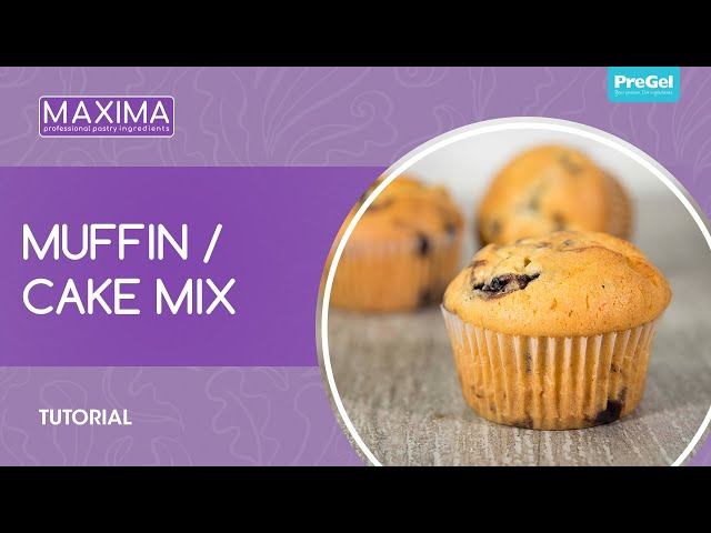 PreGel Maxima Muffin/Cake Tutorial