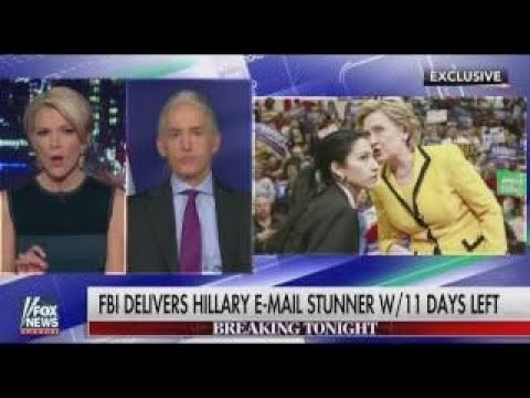 Trey Gowdy Finds out Hillary Investigation Re Open