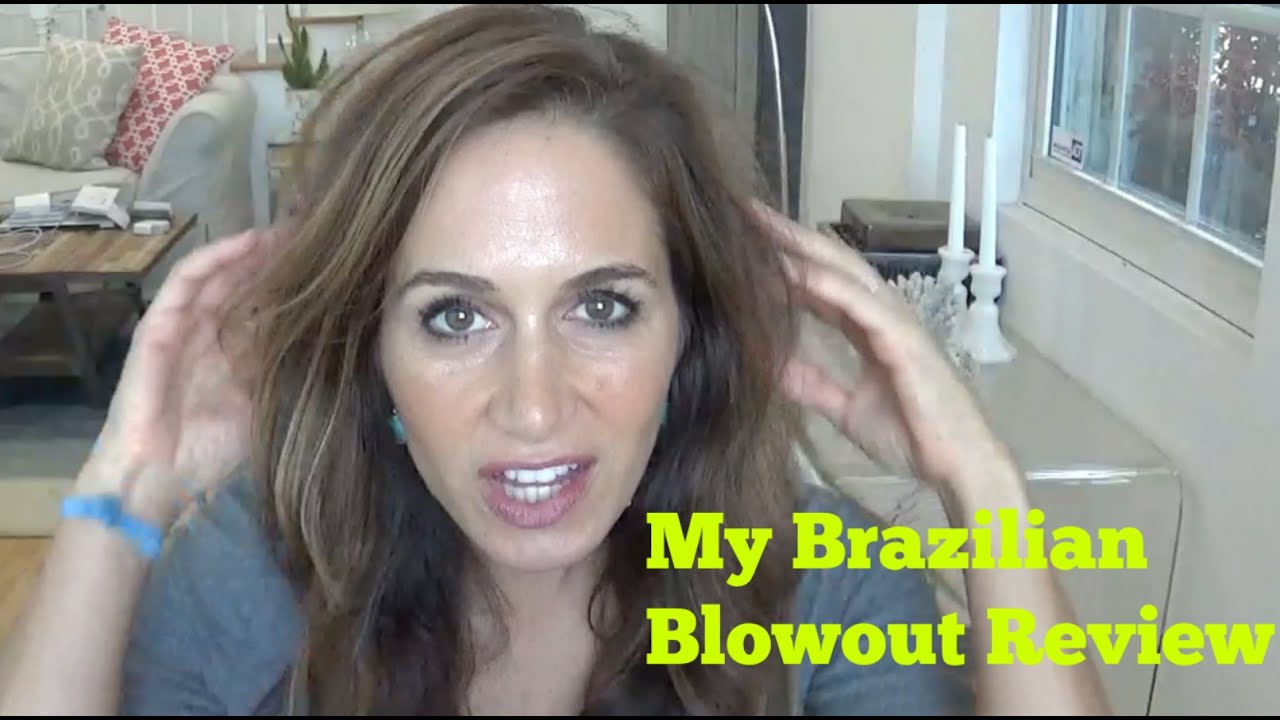 Brazilian Blowout Review! - YouTube
