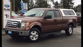 2012 Ford F-150 XLT W/ Tow Haul, AUX, Canopy Review| Island Ford