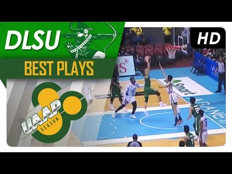Ricci Paolo Rivero Best Plays | UAAP 80 Men's Basketball