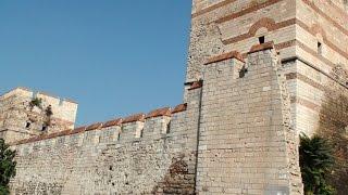 Stambuł - Mury Konstantynopola - Mury Teodozjusza - Meczet Ibrahima Paszy - Walls of Constantinople
