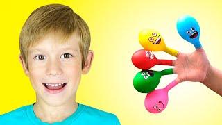 Семья пальчиков 2 - Детская песня   Песни для детей от Тимы и Еси