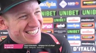 Ackermann «Je suis sorti au bon moment» - Cyclisme - Giro
