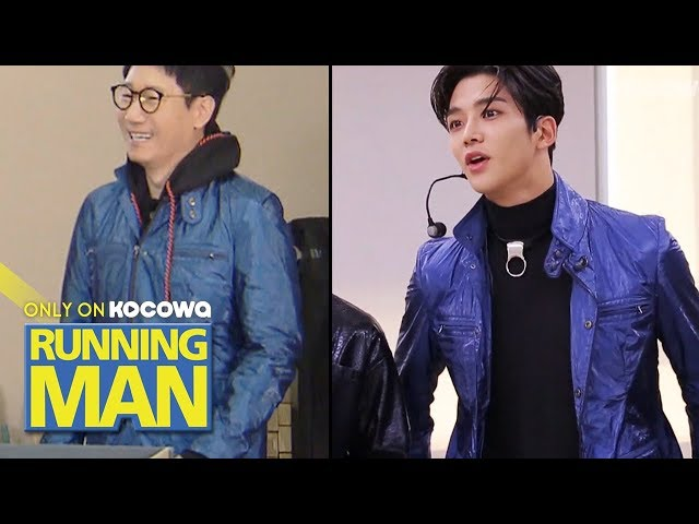 "Where is the Jacket? Ro Woon ""I'm wearing it 😎✨""[Running Man Ep 443]"